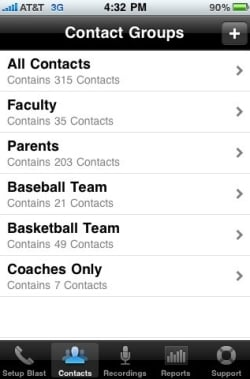 dmc iphone contacts