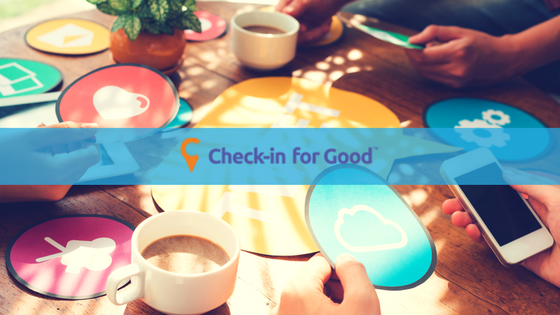 Check-in for Good - Nonprofit App
