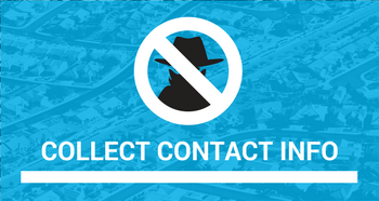 Collect Contact Info - Top 5 Neighborhood Crime Watch Tips