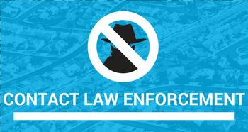 Contact Local Law Enforcement - Top 5 Neighborhood Crime Watch Tips