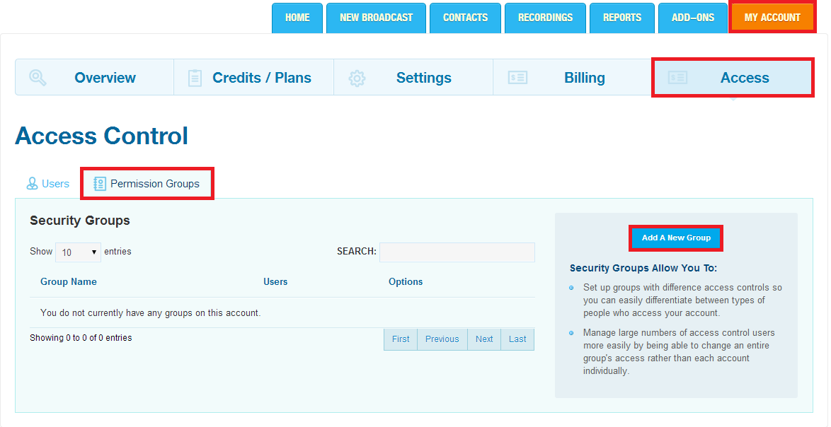 DialMyCalls How To: Create Multiple Users and Account Permissions
