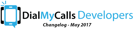 DialMyCalls Changelog - May 2017