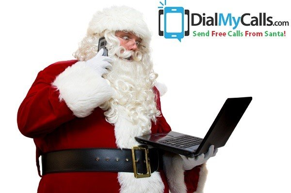 Santa Calls Spread Holiday Cheer During 2013 Christmas Season