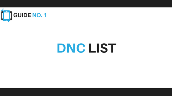 DNC List - Voice Broadcasting Tips