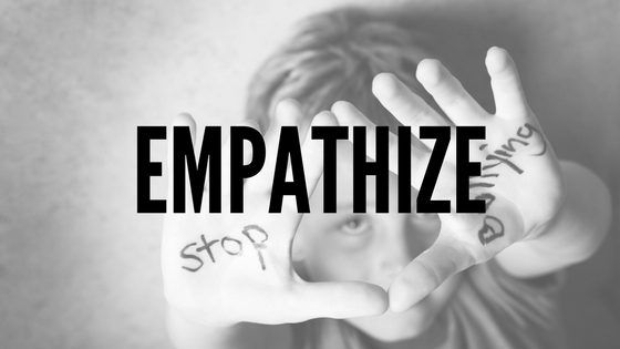 Empathize - Bullying Awareness Program Tips