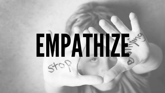 Empathize - Bullying Awareness Program Tips