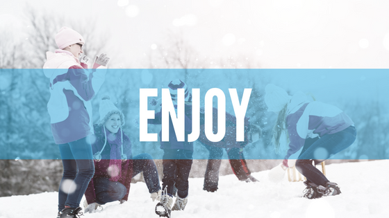 Enjoy - Family Snow Day Tips