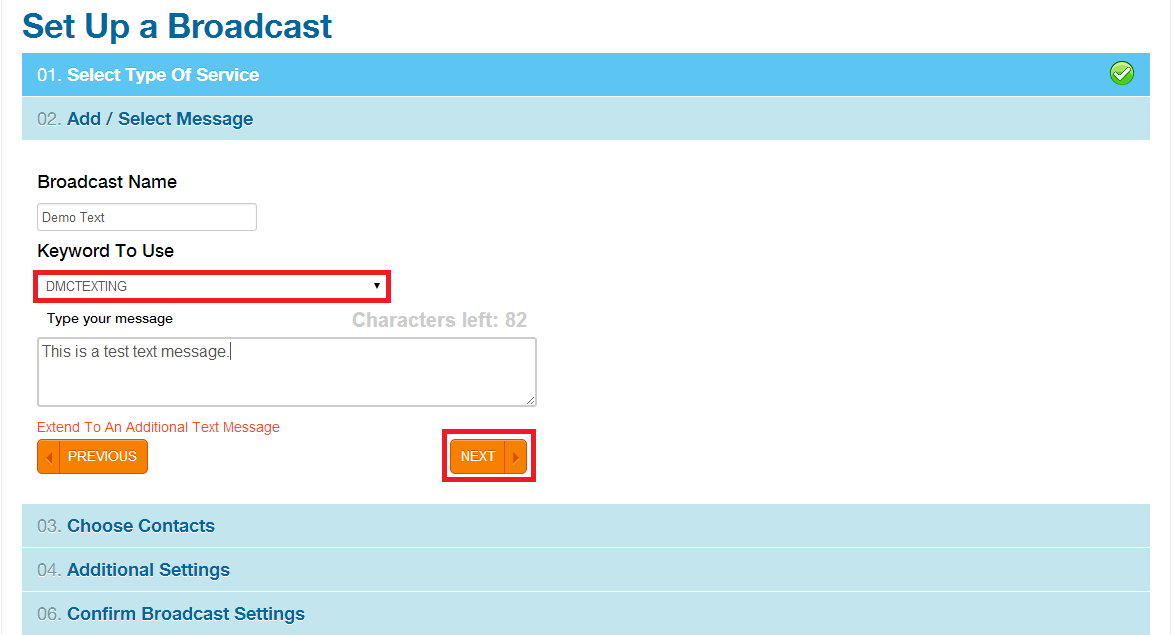 DialMyCalls How To: Register a Free Keyword & Send Text Broadcasts