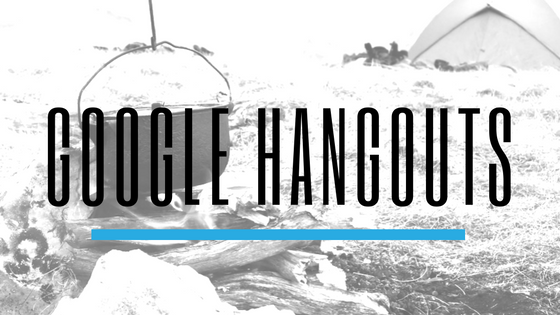 Google Hangouts - Top Communication Apps for Scout Troops