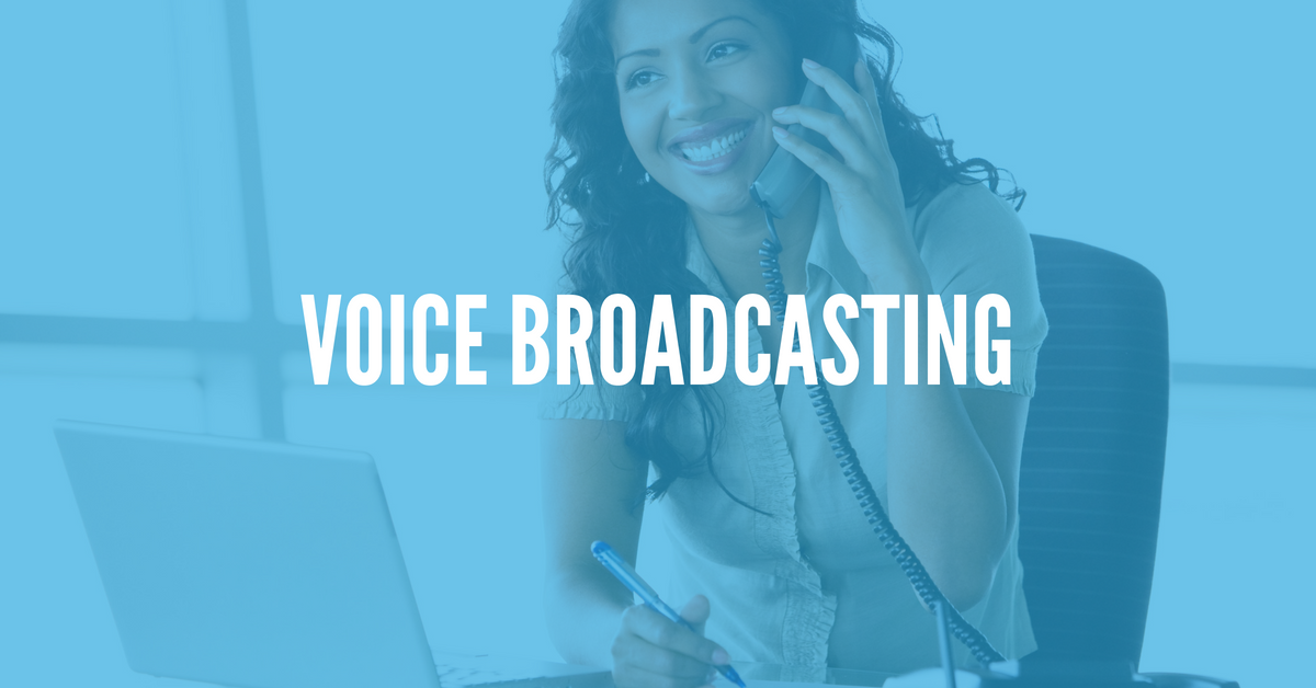Understanding the Basics of Voice Broadcasting Services