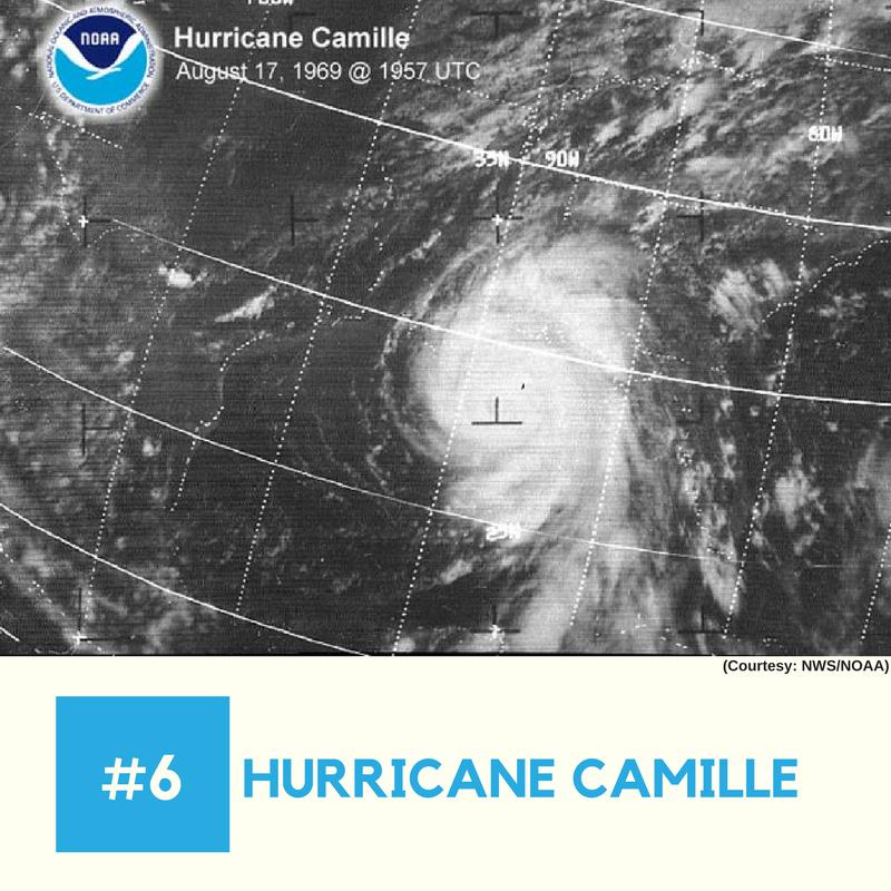 Hurricane Camille (1969)