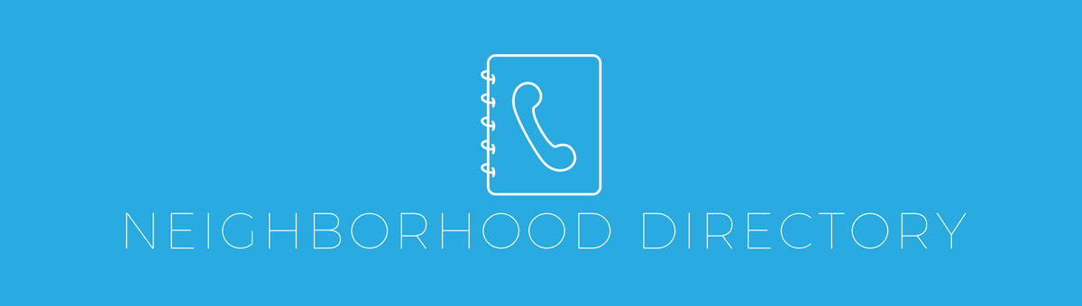 Neighborhood Directory - Top 5 Ways to Keep Your Neighborhood Connected