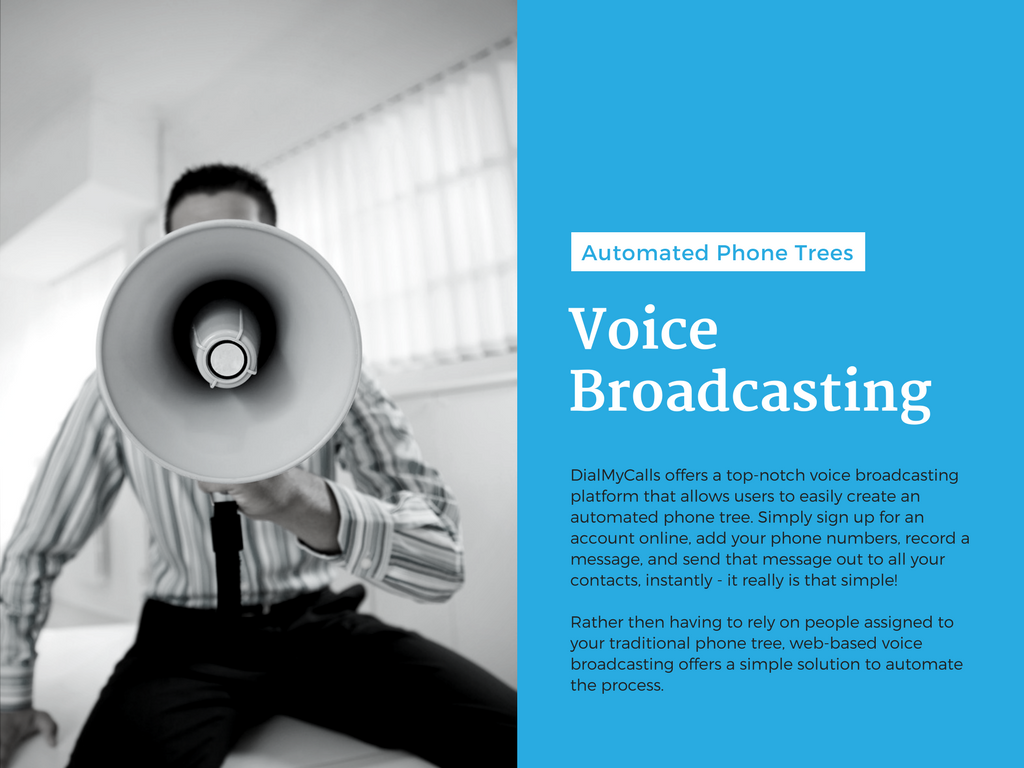 Slide Eight – Voice Broadcasting