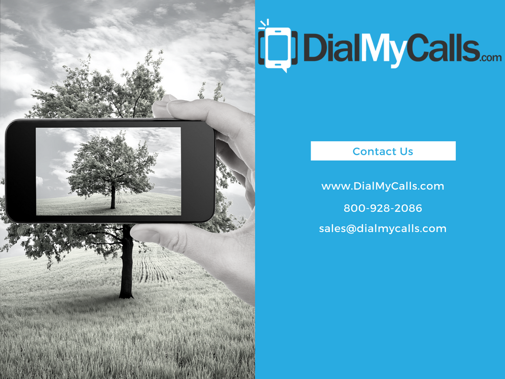 Slide Eleven – Contact DialMyCalls