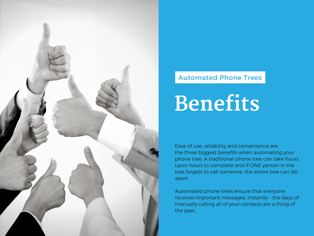Slide Nine – Automated Phone Tree Benefits