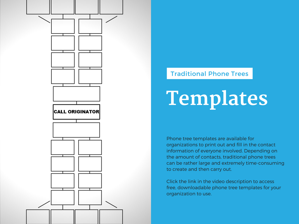 Slide Six – Phone Tree Templates