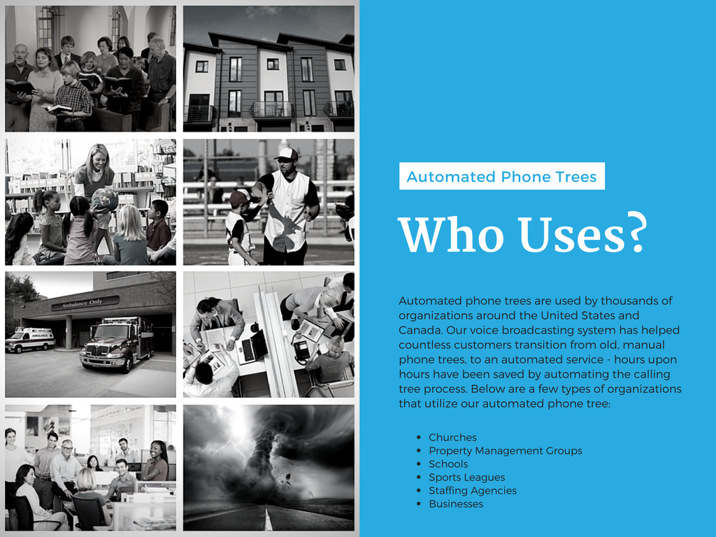 Slide Ten – Who Uses Automated Phone Trees?