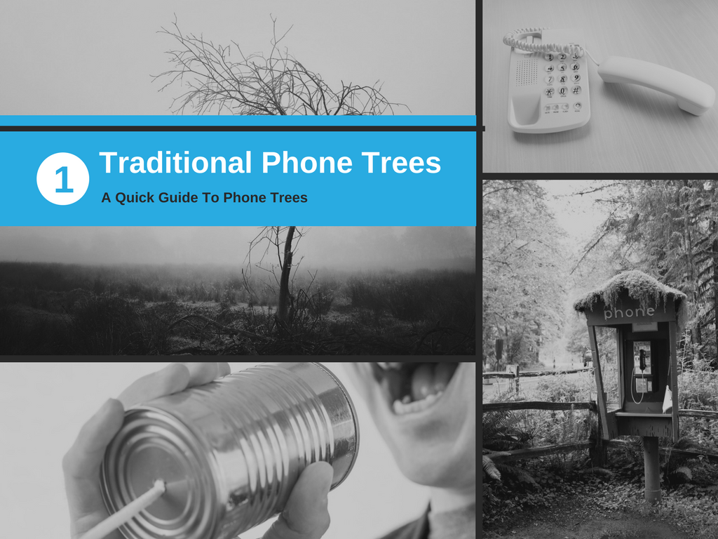Slide Three – Traditional Phone Trees