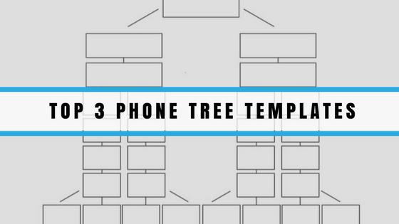 Phone tree templates for Calling tree template word