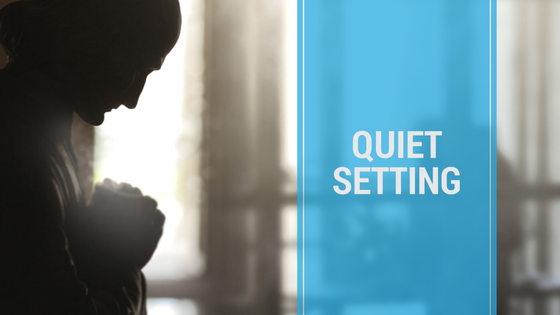 Top 8 Church Meeting Tips - Quiet Setting