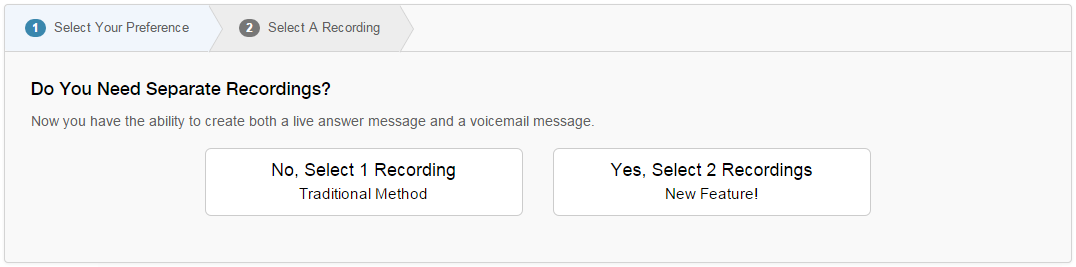 Voice Broadcasting Live Answer & Voicemail Recordings