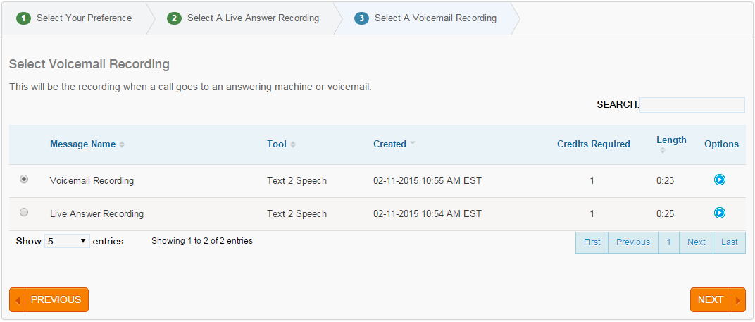 Voice Broadcasting Voicemail Recording