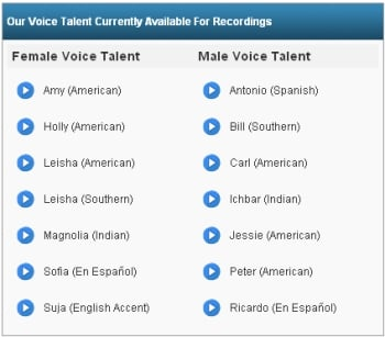 Voice Talent Actors Now Available On DialMyCalls